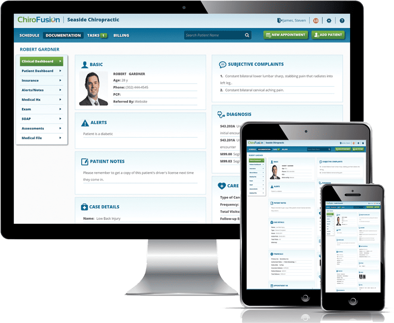 ChiroFusion Chiropractic EHR Software